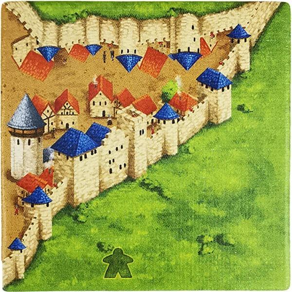 Carcassonne - Wirtshäuser und Kathedralen Plättchen EG