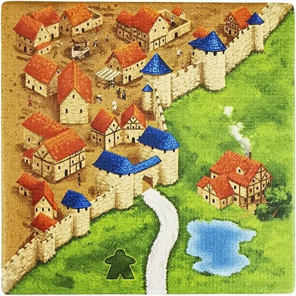 Carcassonne - Wirtshäuser und Kathedralen Plättchen EN