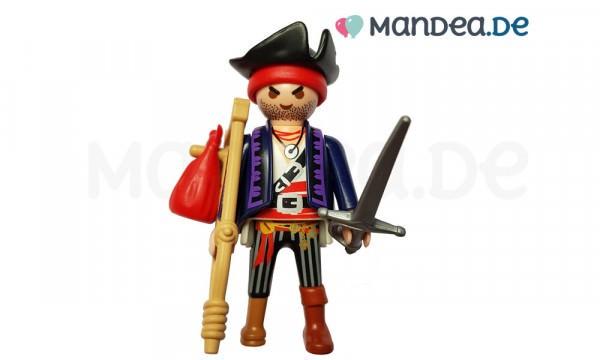 PLAYMOBIL® Figur verwundeter Pirat mit Krückstock