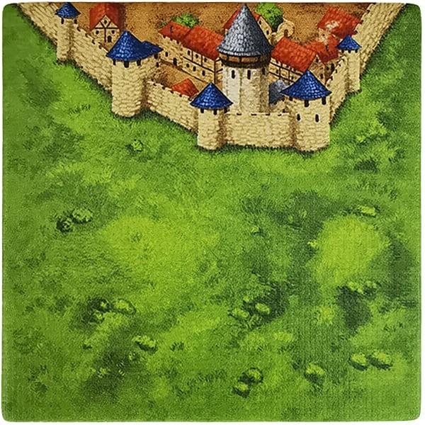 Carcassonne Plättchen E 2 / 4 mit Wasserturm