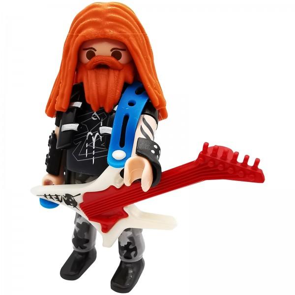 Playmobil Figures Serie 18 Gitarrist k70369e