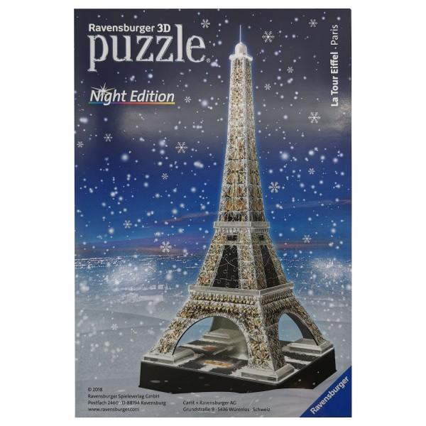 """Ravensburger 3D Puzzle Eiffelturm 805419 """"Night Edition"""" Ersatzteile / Einzelteile"""