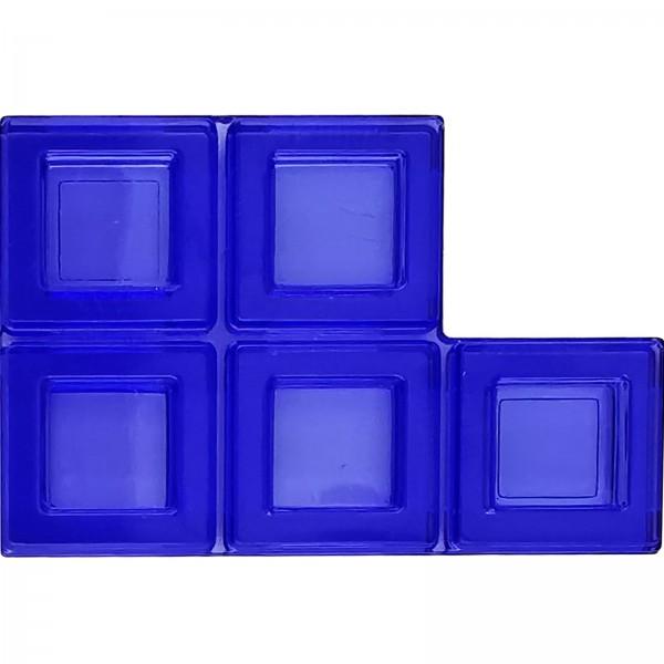 Blokus® Plättchen blau Variante 8