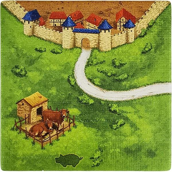 Carcassonne - Händler und Baumeister Plättchen HA