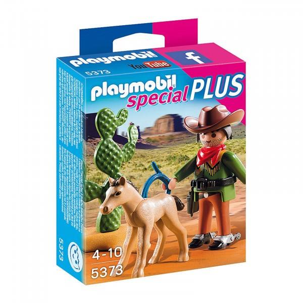 PLAYMOBIL® special PLUS 5373 Cowboy mit Fohlen