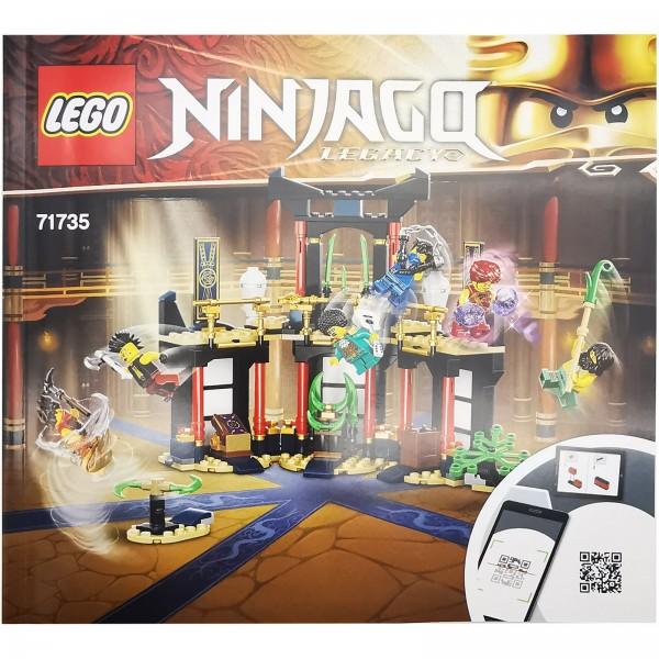 LEGO® 71735 Turnier der Elemente Bauanleitung