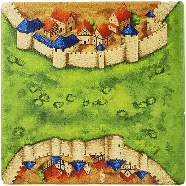 Carcassonne Plättchen H 1 / 3