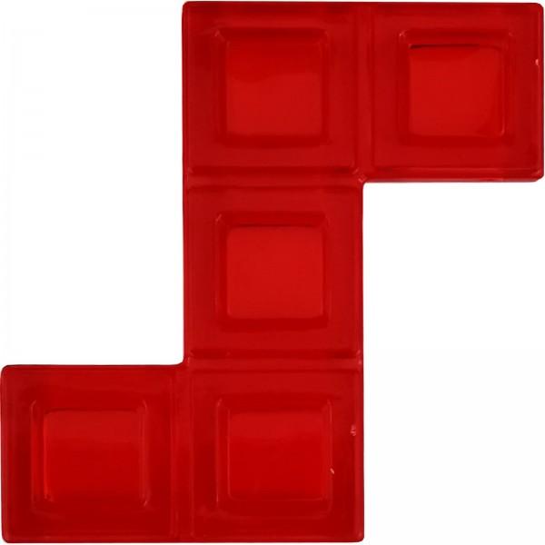 Blokus® Plättchen rot Variante 17