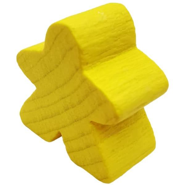 Carcassonne - Große Meeple Figur in gelb