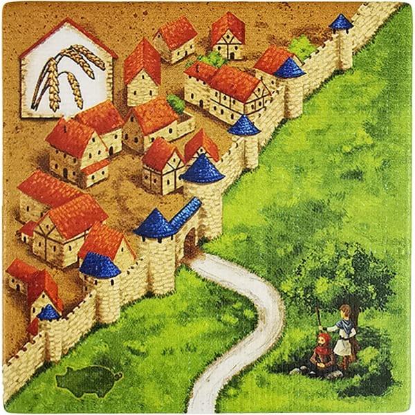 Carcassonne - Händler und Baumeister Plättchen HF