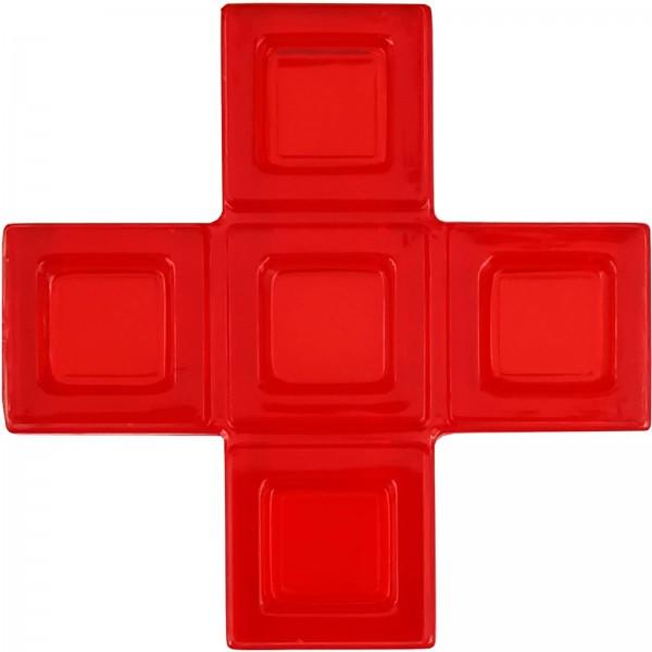 Blokus® Plättchen rot Variante 12