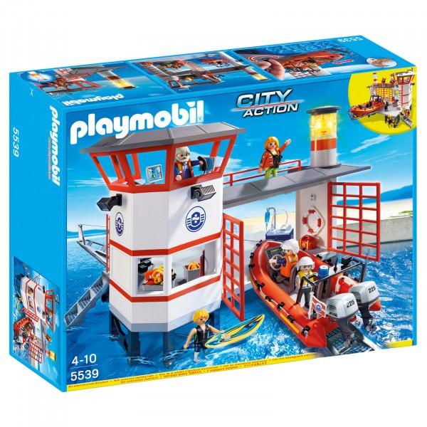 PLAYMOBIL® 5539 Küstenwachstation mit Leuchtturm