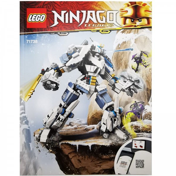 LEGO® Ninjago® Zanes Titan Mech Bauanleitung