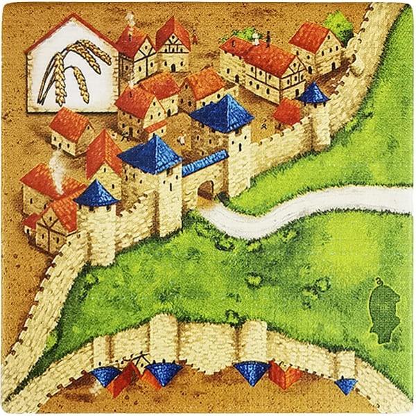 Carcassonne - Händler und Baumeister Plättchen HD