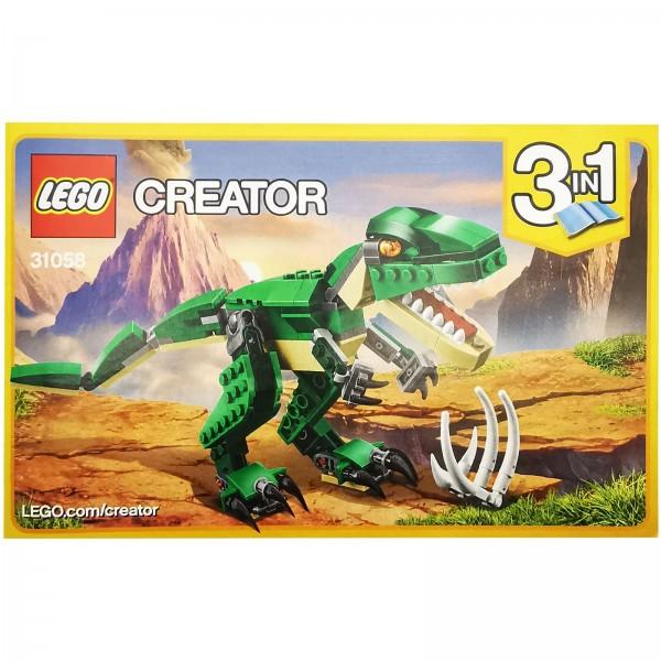 LEGO® 31058 Dinosaurier Bauanleitung 1 / 3