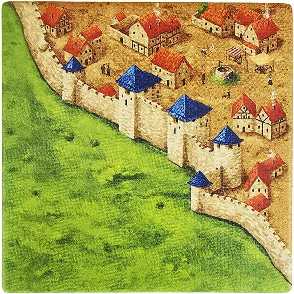 Carcassonne Plättchen N 1 / 3