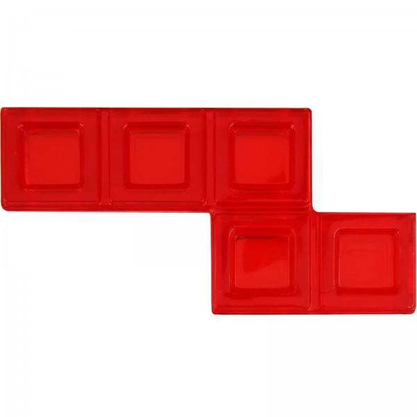 Blokus® Plättchen rot Variante 13