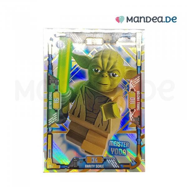 Lego Star Wars Trading Card Serie 1 Meister Yooda le1
