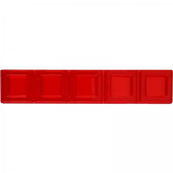 Blokus® Plättchen rot Variante 5