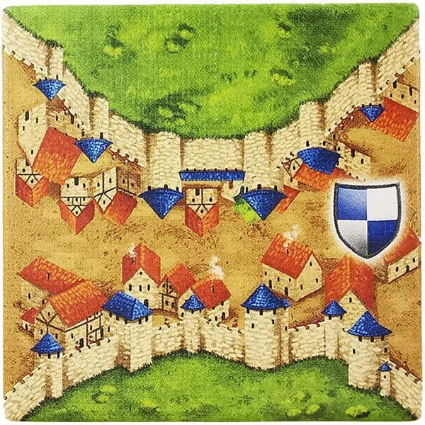 Carcassonne Plättchen F 1 / 2
