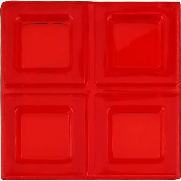 Blokus® Plättchen rot Variante 7