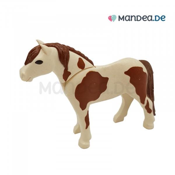 PLAYMOBIL® Pony weiß braun 30648624