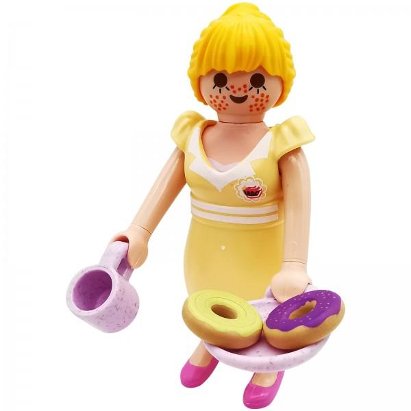 Playmobil Figures Serie 18 Kellnerin k70370a