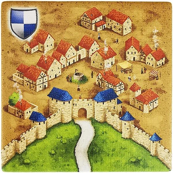 Carcassonne Plättchen S 1 / 2