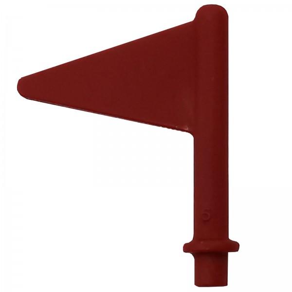Schleich® Fahne rot