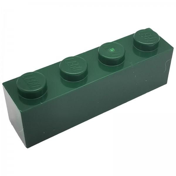 LEGO® Stein 1 x 4 dunkelgrün 4245571