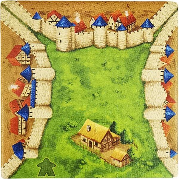 Carcassonne - Wirtshäuser und Kathedralen Plättchen EO