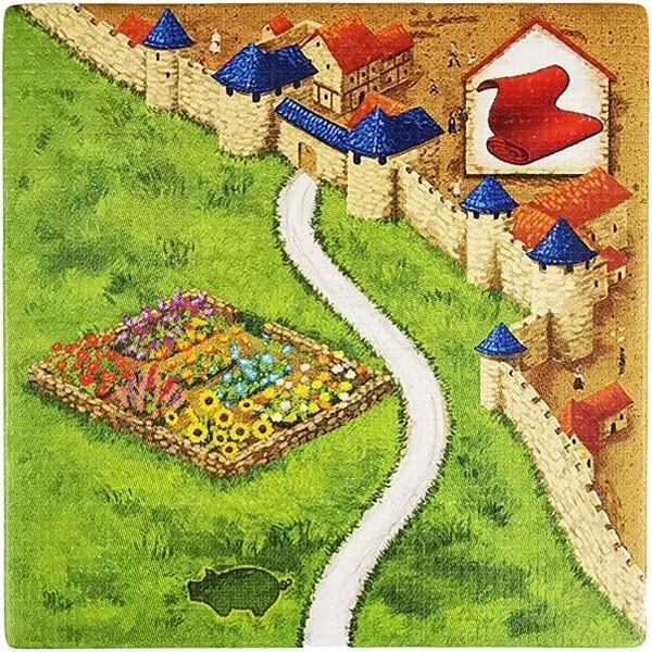 Carcassonne - Händler und Baumeister Plättchen HK