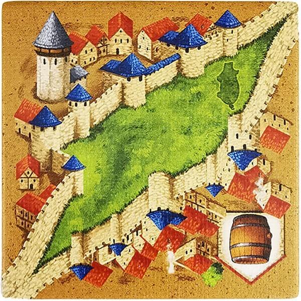 Carcassonne - Händler und Baumeister Plättchen HX