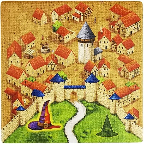 Carcassonne - Magier und Hexe MaHeC