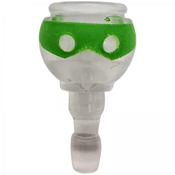 Playmobil transparenter Kopf mit Augenbinde