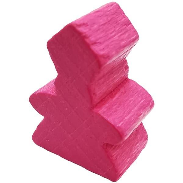 Carcassonne der Abt Figur pink