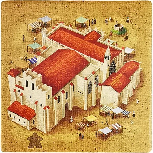 Carcassonne - Wirtshäuser und Kathedralen Plättchen EK Variante I