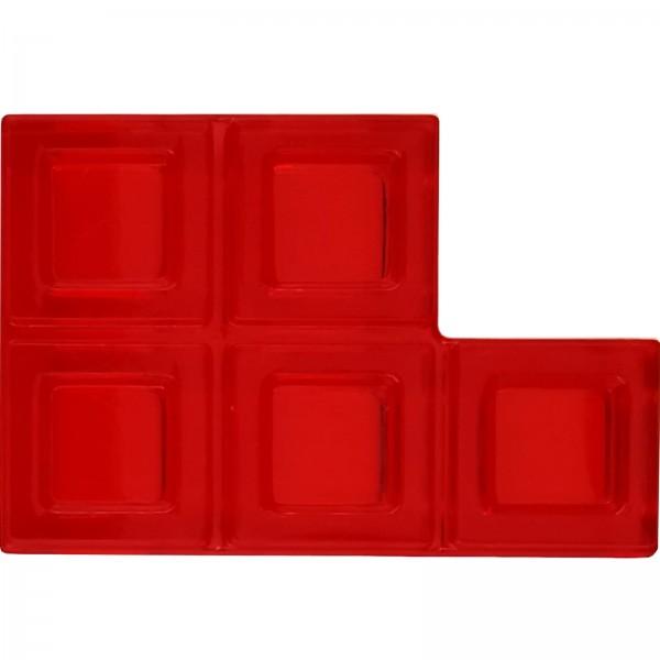 Blokus® Plättchen rot Variante 8