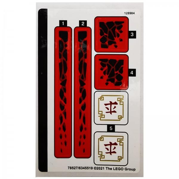 LEGO® Ninjago® 71753 Aufkleber