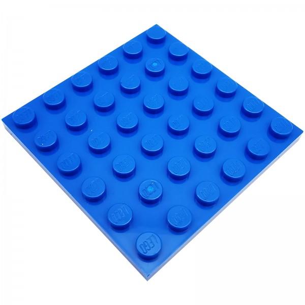 LEGO® Platte 4199519 6 x 6 Noppen 3958 farbe bright blue